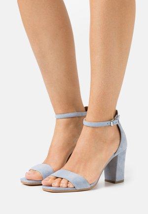 JUDY - Sandals - light blue
