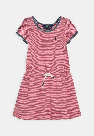 DRESS - Jerseyjurk - nantucket red/deckwash white