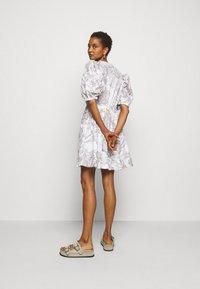 Bruuns Bazaar - POSY OLIVINE DRESS - Day dress - snow white - 2
