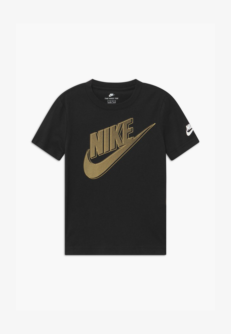 Nike Sportswear - CLUB FUTURA GRAPHIC TEE - Print T-shirt - black