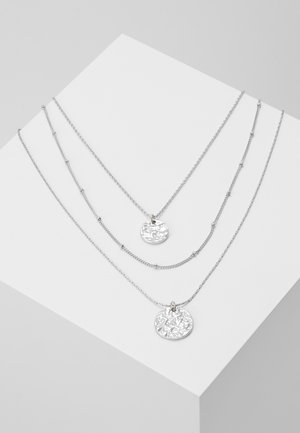 PCEIDA COMBI NECKLACE KEY - Necklace - silver-coloured