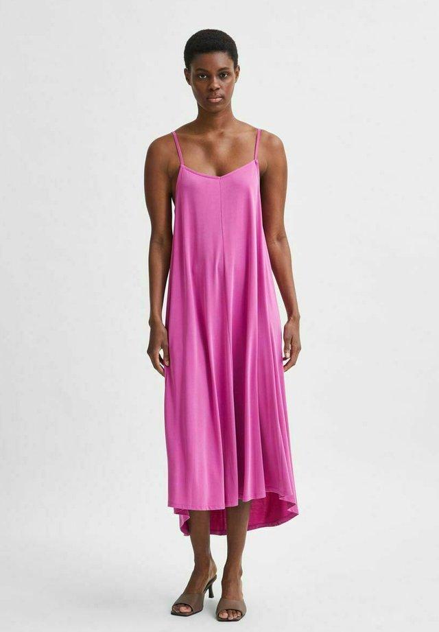 Korte jurk - rose violet