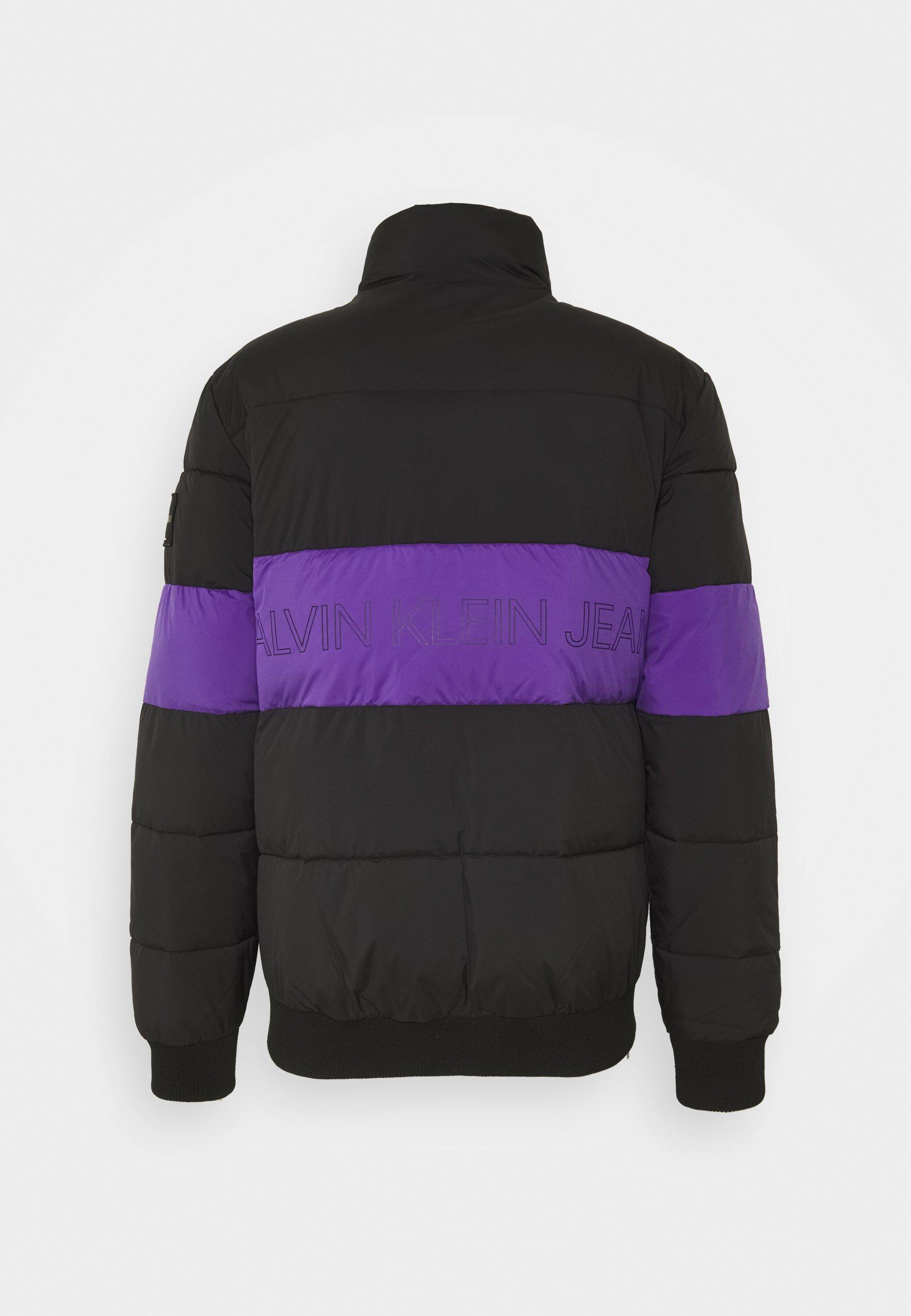 Calvin Klein Jeans OUTLINE LOGO JACKET - Veste d'hiver - gentian violet