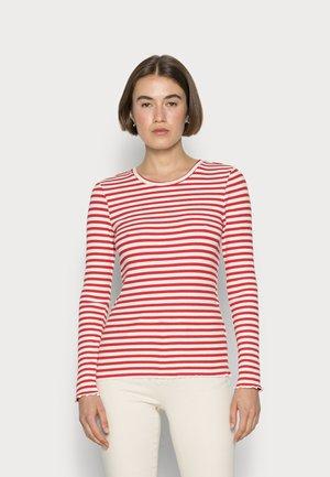 SLFANNA  - Long sleeved top - true red