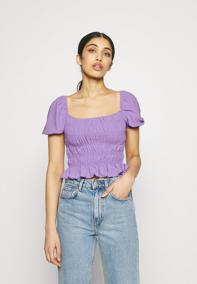 Blouse - lilac