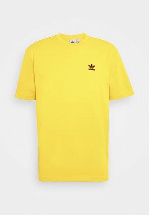 TREFOIL TEE - T-Shirt print - actgol/black