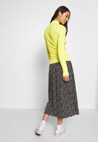 Monki - SIGRID SKIRT - A-line skirt - black/white - 2