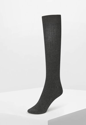 Knee high socks - grey
