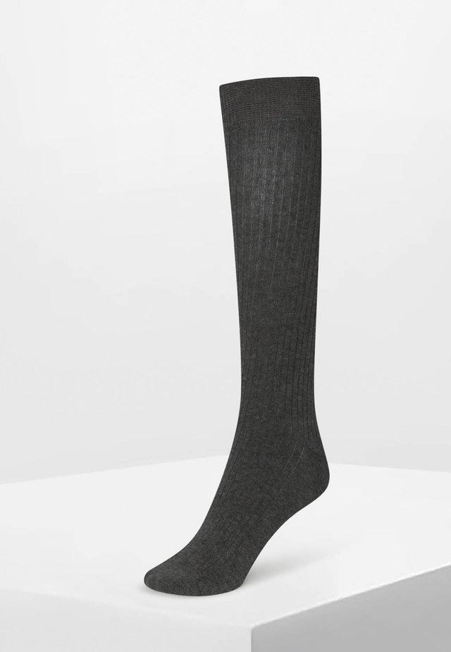 Kniestrümpfe - grey