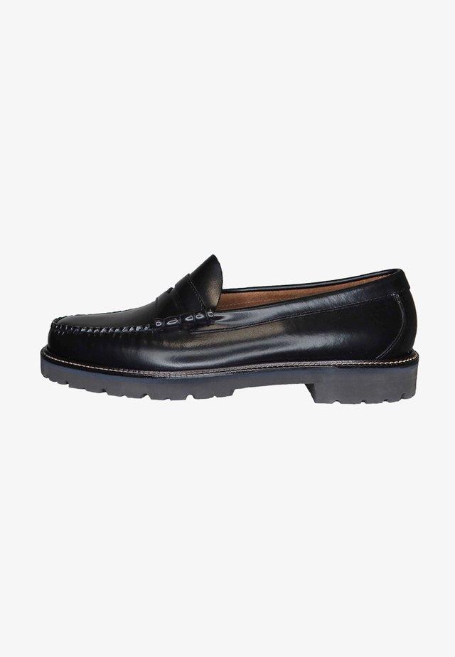 Slip-ons - black leather