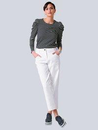Alba Moda - Long sleeved top - black, white - 1