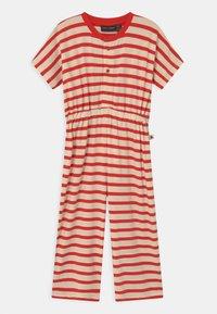 Mini Rodini - STRIPE ONESIE - Overall / Jumpsuit /Buksedragter - red - 0