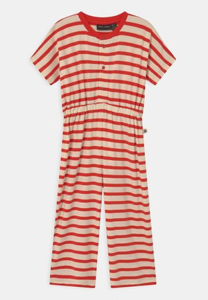 STRIPE ONESIE - Jumpsuit - red