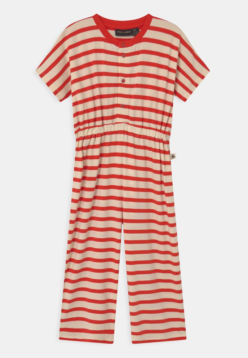 Mini Rodini - STRIPE ONESIE - Overall / Jumpsuit /Buksedragter - red