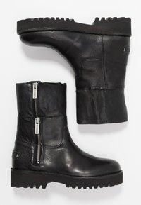 Shabbies Amsterdam - Platform ankle boots - black - 3