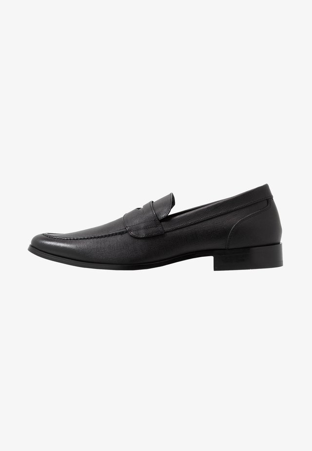 MARIO LOAFER - Smart slip-ons - black