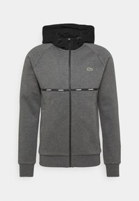 Lacoste Sport - Zip-up hoodie - pitch chine/black/white - 0