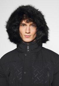 PARELLEX - LUNAR LONGLINE JACKET - Zimní kabát - black - 4