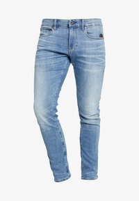 G-Star - REVEND SKINNY - Jeansy Skinny Fit - light indigo aged - 4