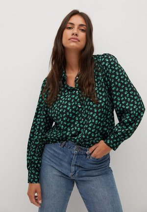 LAURAP - Button-down blouse - grün
