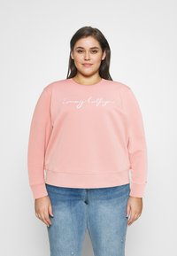 Tommy Hilfiger Curve - Sweatshirt - soothing pink - 0