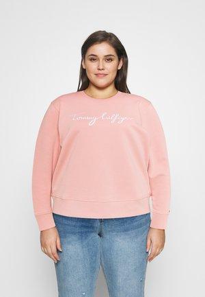Sweatshirt - soothing pink