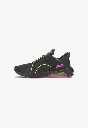 Trainers - black-yellow-luminous pink