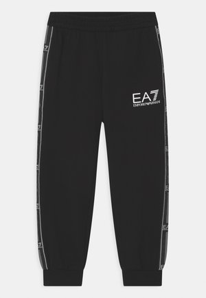 EA7 - Tracksuit bottoms - black