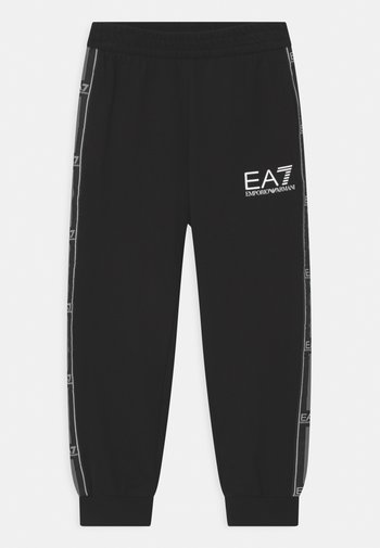 EA7 - Teplákové kalhoty - black