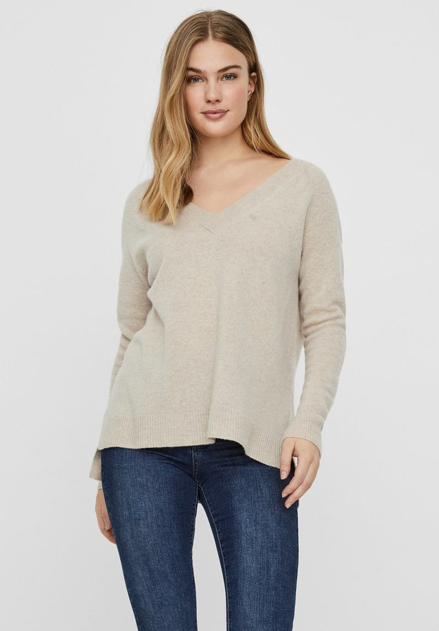 Sweter - sepia tint