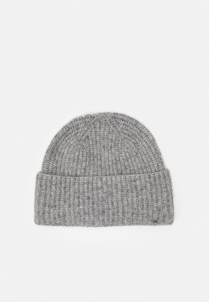 CLOUD BEANIE - Lue - grey melange