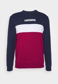 Lacoste - Sweatshirt - marine/rouge - 4