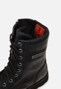 Harley Davidson - EDGERTON - Lace-up ankle boots - black - 6