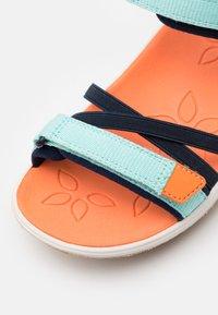 Keen - VERANO UNISEX - Walking sandals - black iris/blue tint - 5