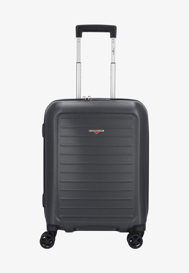 Wheeled suitcase - steel grey