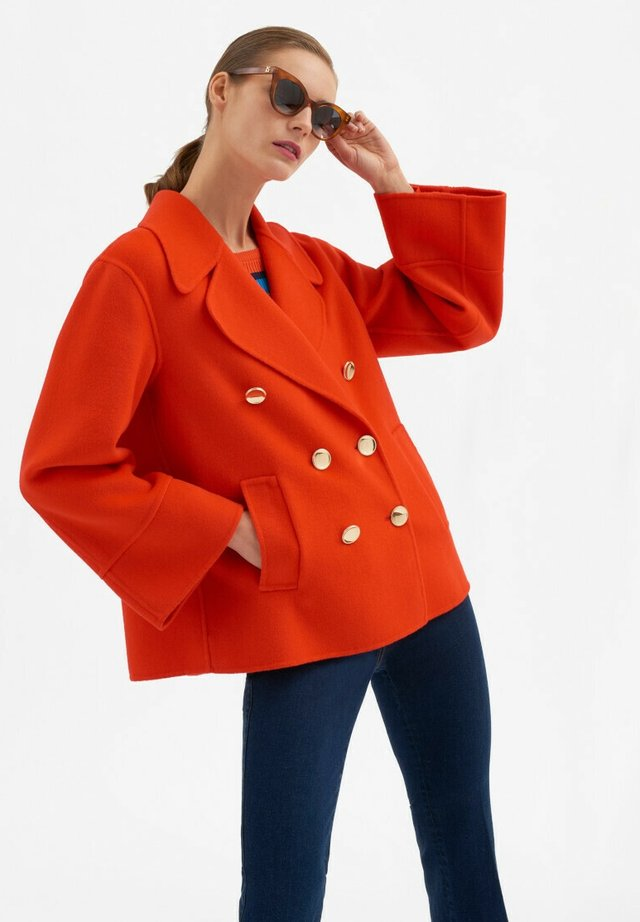 Short coat - rosso