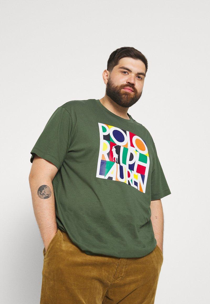 Polo Ralph Lauren Big & Tall - Print T-shirt - olive