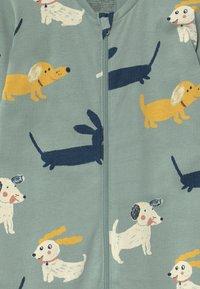 Lindex - DOGS  UNISEX - Pyjamas - light dusty aqua - 2