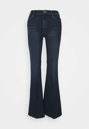THE DOOZY - Flared Jeans - dark blue