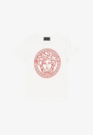 MAGLIETTA MANICA CORTA - Print T-shirt - bianco/rosso