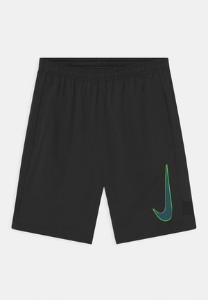 ACADEMY UNISEX - Sports shorts - black/dark teal green