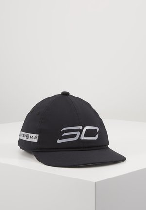 BOYS CROSSOVER - Cap - black/mod gray