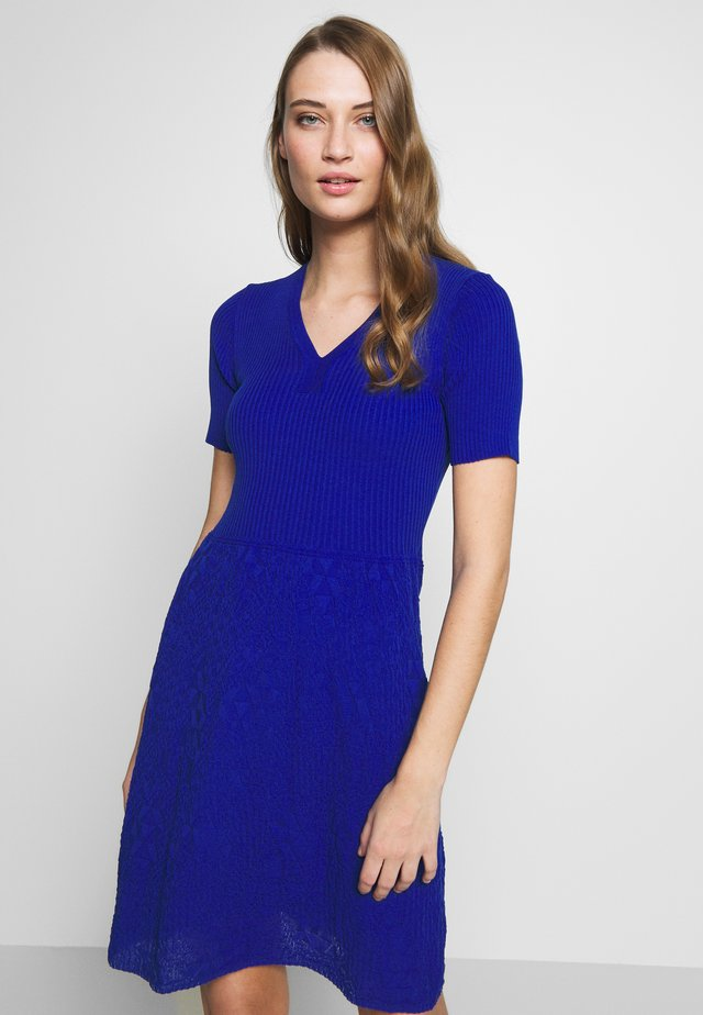 DRESS - Neulemekko - blue