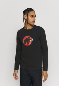 Mammut - LOGO LONGSLEEVE - Long sleeved top - black - 0