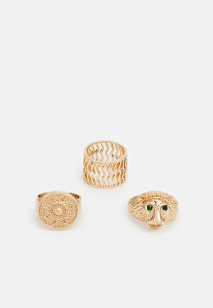 GEVIA 3 PACK - Ring - gold-coloured