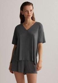 OYSHO - Pyjama top - grey - 4