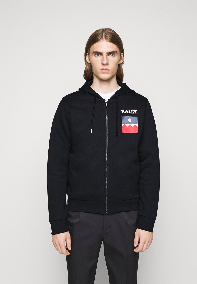 Bally - Zip-up hoodie - navy