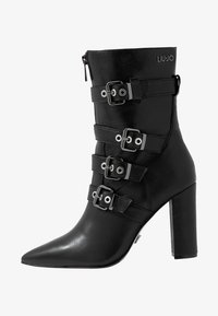 Liu Jo Jeans - SHANA - Bottines à talons hauts - black - 1