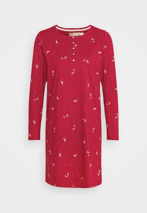 NIGHTDRESSES CHARACTER BUTTONS - Nightie - rosso masai