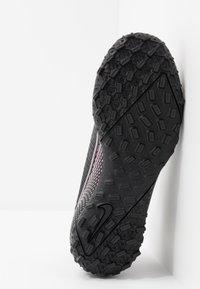 Nike Performance - JR MERCURIAL 7 ACADEMY TF UNISEX - Astro turf trainers - black - 5